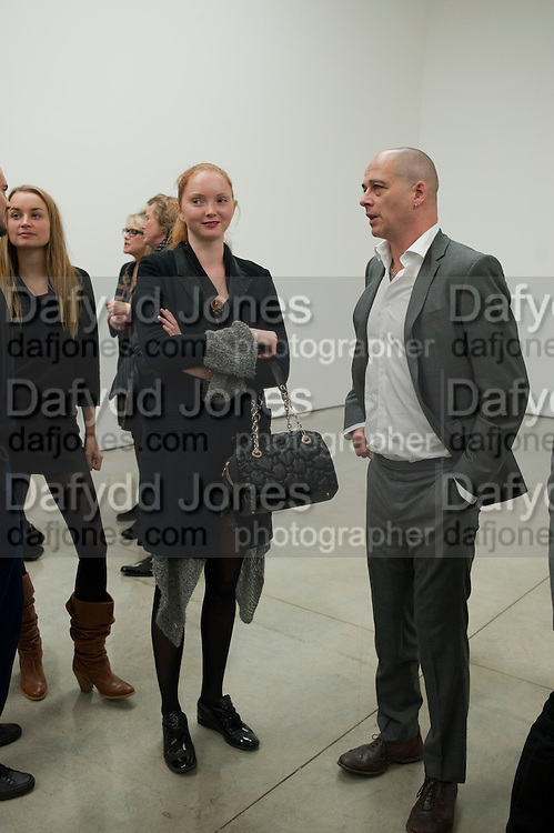 LILY COLE; DINOS CHAPMAN Nothing Matters. Damien Hirst exhibition. White Cube. Mason's Yard. London. 24 November 2009