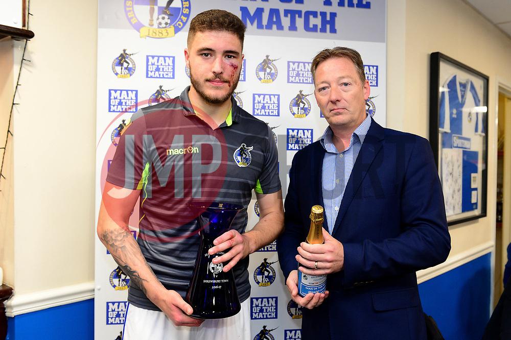 Man of the match sponsor - Mandatory by-line: Dougie Allward/JMP - 01/04/2017 - FOOTBALL - Memorial Stadium - Bristol, England - Bristol Rovers v Northampton Town - Sky Bet League One