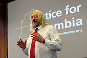 Latin America 2014 Conference<br /> Adelante!<br /> <br /> 'Peace and Protest in Columbia' seminar<br /> Tosh Mc Donald<br /> ASLEF Executive Committee member
