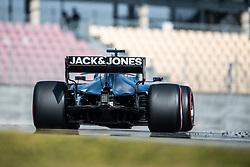 February 21, 2019 - Montmelo, BARCELONA, Spain - SPAIN, BARCELONA, Circuit de Barcelona Catalunya,21 February. #8 Romain GROSJEAN driver of HAAS F1 Team during the winter test at Circuit de Barcelona Catalunya. (Credit Image: © AFP7 via ZUMA Wire)