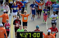 03-11-2013 ALGEMEEN: BVDGF NY MARATHON: NEW YORK <br /> De NY marathon werd weer een groot succes voor de BvdGf. Alle lopers hebben met prachtige tijden de finish gehaald / Ewoud finisht in 4:27:06<br /> ©2013-FotoHoogendoorn.nl