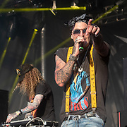 Yelawolf performs on May 4, 2019 at Metropolitan Park in Jacksonville, Florida (Photo: Charlie Steffens/Gnarlyfotos)