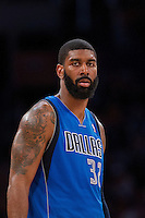 02 April 2013: Guard (32) O.J. Mayo of the Dallas Mavericks against the Los Angeles Lakers during the second half of the Lakers 101-81 victory over the Mavericks at the STAPLES Center in Los Angeles, CA.