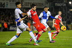 Cristian Montano of Bristol Rovers - Rogan Thomson/JMP - 01/11/2016 - FOOTBALL - Memorial Stadium - Bristol, England - Bristol Rovers v Fleetwood Town - Sky Bet League One.
