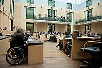 07 MAY 2010, BERLIN/GERMANY:<br /> Wolfgang Schaeuble (L), CDU, Bundesfinanzminister, haelt eine Rede, Bundesratsdebatte zum Gesetz zur Uebernahme von Gewaehrleistungen zum Erhalt der fuer die Finanzstabilitaet in der Waehrungsunion erforderlichen Zahlungsfaehigkeit der Hellenischen Republik, der sog. Griechenland-Hilfe, Plenum, Bundesrat<br /> IMAGE: 20100507-02-0<br /> KEYWORDS: Buergschaft, Bürgschaft, Finanzstabilitaetsgesetz, Wolfgang Schäuble