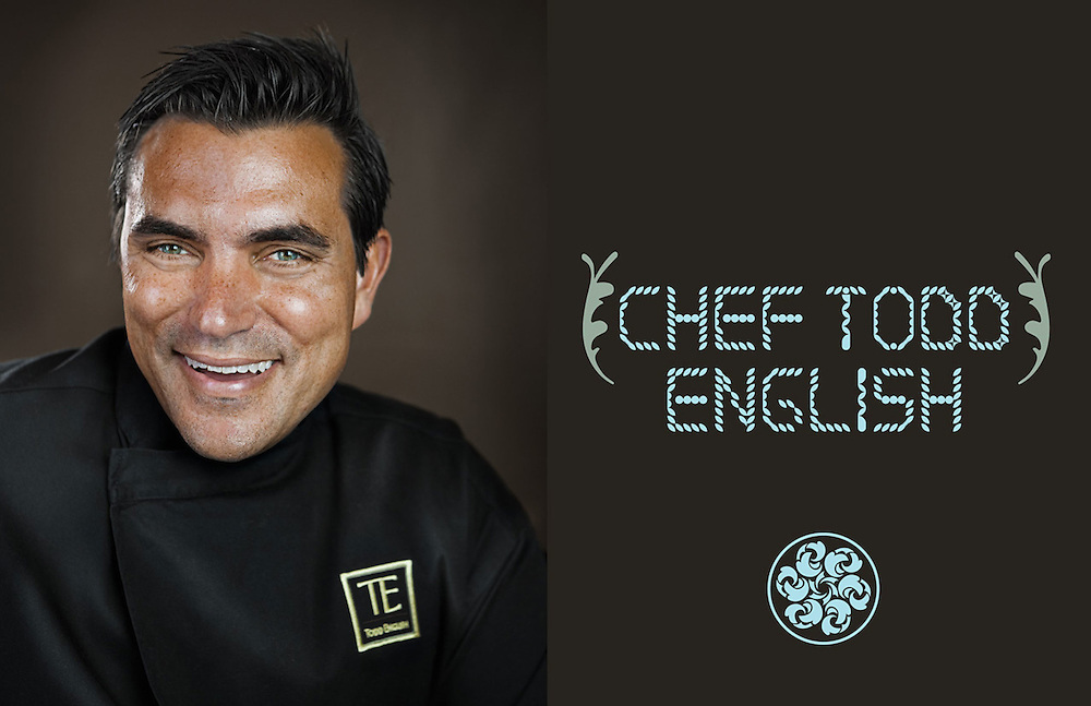 Advertising Image of celebrity chef, restaurateur, author, and television personality Todd English by Michel Leroy PHOTOGRAPHER