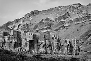 Yemen. the mountain top village of Bait Bous.