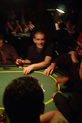 Gus Hanson. Opening Night Party of the first  cards tournament hosted by online poker website World Poker Exchang. Old Billingsgate Market, London. 3 August 2005. ONE TIME USE ONLY - DO NOT ARCHIVE  © Copyright Photograph by Dafydd Jones 66 Stockwell Park Rd. London SW9 0DA Tel 020 7733 0108 www.dafjones.com