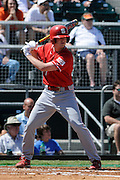 March 8, 2009: Drew Martin of the North Carolina State Wolfpack in action during the NCAA baseball game between the Miami Hurricanes and the North Carolina State Wolfpack. The 'Canes defeated the Wolfpack 9-7.