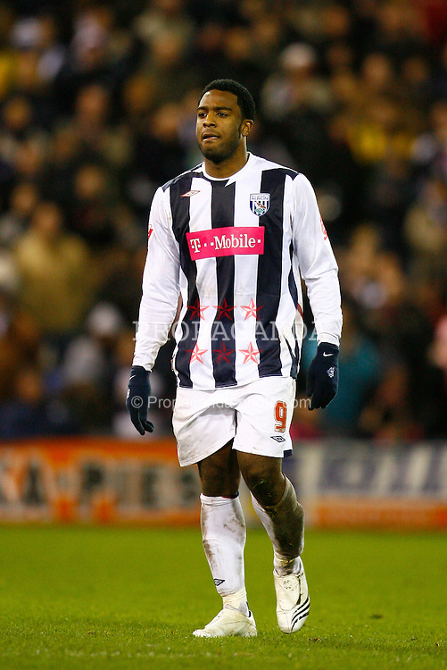 West Bromwich, England - Tuesday, February 27, 2007: West Bromwich Albion's Nathan Ellington walks off after being sent-off against Middlesbrough during the FA Cup 5th Round Replay at the Hawthorns. (Pic by David Rawcliffe/Propaganda)