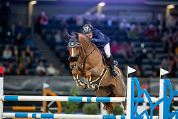 Robert Olivier, FRA, Tempo de Paban<br /> Stuttgart - German Masters 2018<br /> © Hippo Foto - Stefan Lafrentz