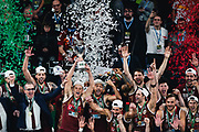 ILCE-9M2 • FE 400mm F2.8 GM OSS<br /> f/3.5 • ISO 2000 • 1/1000<br /> <br /> <br /> Umana Reyer Venezia - Happy Casa Brindisi<br /> LBA Final Eight 2020 Zurich Connect - Finale<br /> Basket Serie A LBA 2019/2020<br /> Pesaro, Italia - 16 February 2020<br /> Foto Mattia Ozbot / CiamilloCastoria