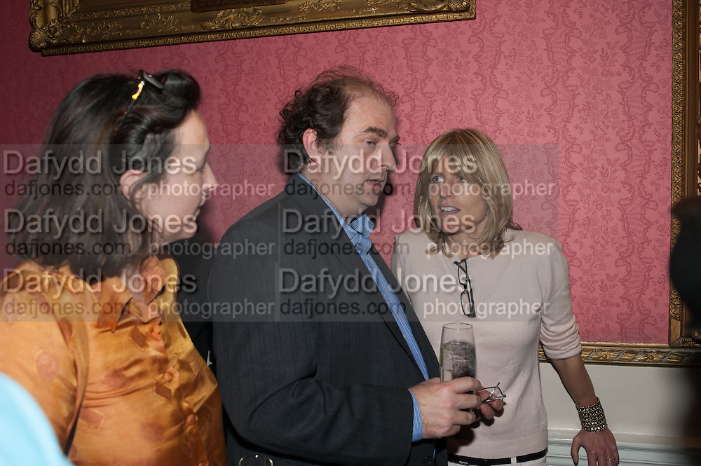 ELIZA WAUGH; ALEXANDER WAUGH; RACHEL JOHNSON, The Literary Review Bad Sex in Fiction Award 2013. The In and Out Club, 4 St. james's Sq. London. 3 December 2013