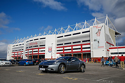 A General View of the Britannia Stadium before the match - Photo mandatory by-line: Rogan Thomson/JMP - 07966 386802 - 19/10/2014 - SPORT - FOOTBALL - Stoke-on-Trent, England - Britannia Stadium - Stoke City v Swansea City - Barclays Premier League.