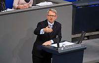 DEU, Deutschland, Germany, Berlin, 01.02.2018: Johannes Kahrs (SPD) bei einer Rede im Deutschen Bundestag.
