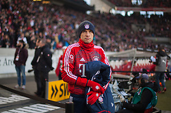 December 16, 2017 - Stuttgart, Germany - Bayerns Thomas Mueller makes his way to the bench during the German first division Bundesliga football match between VfB Stuttgart and Bayern Munich on December 16, 2017 in Stuttgart, Germany. (Credit Image: © Bartek Langer/NurPhoto via ZUMA Press)
