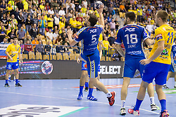 Michal Jurecki of PGE Vive Kielce during handball match between RK Celje Pivovarna Lasko and PGE Vive Kielce in Group Phase A+B of VELUX EHF Champions League, on September 30, 2017 in Arena Zlatorog, Celje, Slovenia. Photo by Urban Urbanc / Sportida