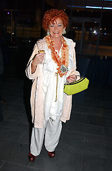 Actress PATRICIA QUINN (Lady Stevens) at the launch party for 'The London Look - Fashion From Street to Catwalk' held at the Museum of London, London Wall, Londom EC2 on 28th October 2004<br /><br />NON EXCLUSIVE - WORLD RIGHTS