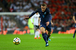 Jamie Vardy of England on the attack - Mandatory by-line: Jason Brown/JMP - 10/11/2017 - FOOTBALL - Wembley Stadium - London, England - England v Germany - International Friendly