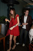Jay Murray and Alexandra Knatchbull. An evening in aid of cancer charity Clic Sargent held at the Sanderson Hotel, Berners Street, London on 4th July 2005ONE TIME USE ONLY - DO NOT ARCHIVE  © Copyright Photograph by Dafydd Jones 66 Stockwell Park Rd. London SW9 0DA Tel 020 7733 0108 www.dafjones.com