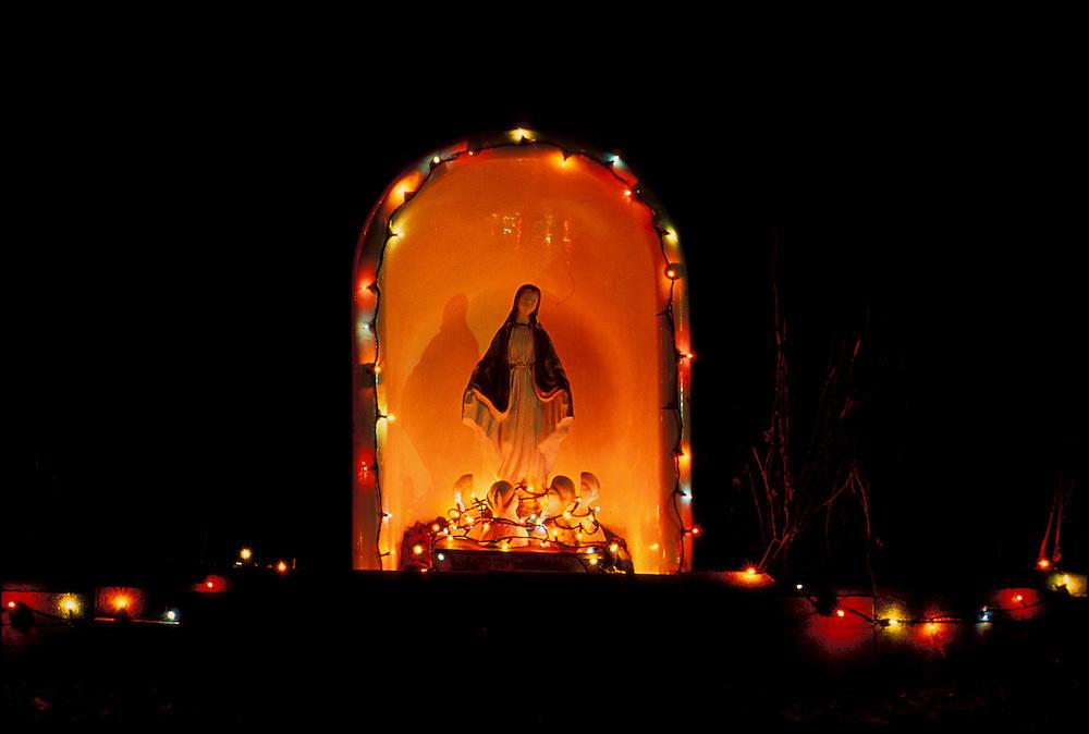 Christmas Lights, New Mexico, USA