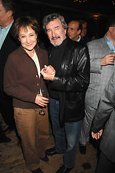 ZOE WANAMAKER and GAWN GRAINGER at a reception to Discover Wilton's Music Hall held at the hall in Graces Alley, London E1 on 5th December 2007.<br />