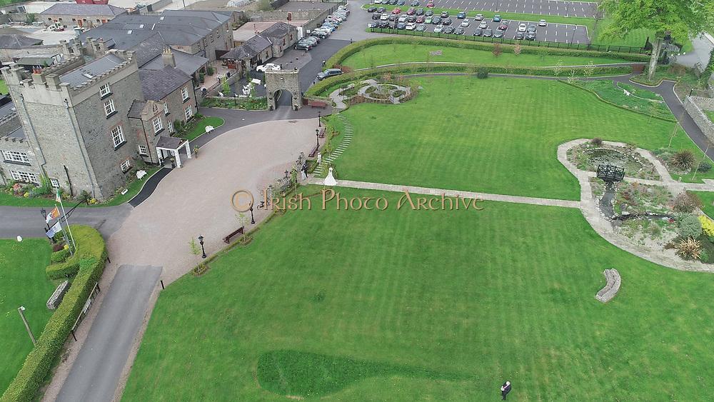 Darver Castle Wedding Venue County Louth aerial photos