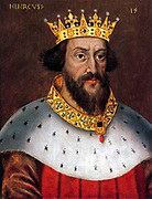 Henry I (c. 1068/1069 – 1 December 1135) was the fourth son of William I of England. He succeeded his elder brother William II as King of England in 1100 by unknown artist, circa 1620