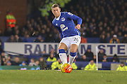 Everton midfielder Ross Barkley  during the Barclays Premier League match between Everton and Crystal Palace at Goodison Park, Liverpool, England on 7 December 2015. Photo by Simon Davies.