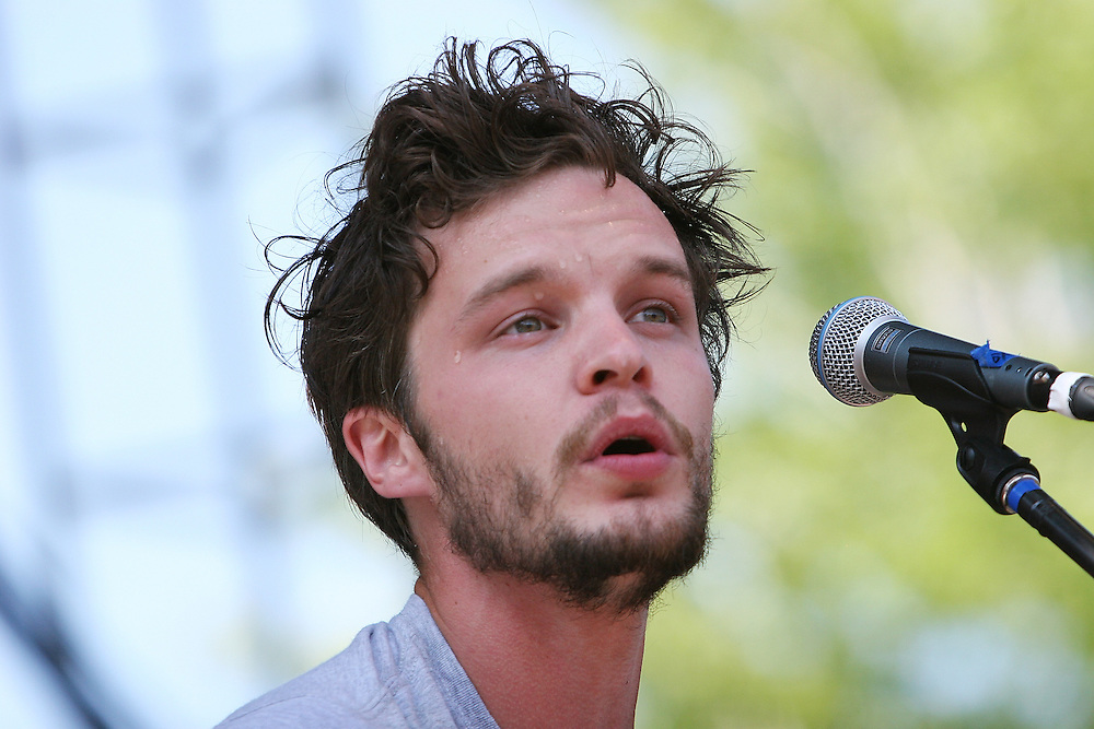 CHICAGO - JULY 16:  Singer/songwriter The Tallest Man on Earth aka Kristian Matsson performs onstage during the 2010 Pitchfork Music Festival at Union Park on July 16, 2010 in Chicago, Illinois.  (Photo by Roger Kisby/Getty Images)