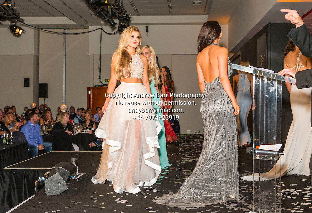27-08-2015<br /> Miss Scotland 2015 final at Raddison Blu, Glasgow.<br /> <br /> Evinggowns - Megan Fitzpatrick<br /> <br /> Pic:Andy Barr<br /> <br /> www.andybarr.com<br /> <br /> Copyright Andrew Barr Photography.<br /> No reuse without permission.<br /> andybarr@mac.com<br /> +44 7974923919