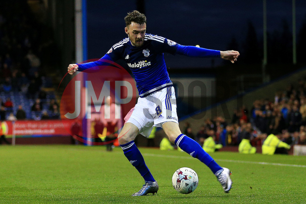 Joe Ralls of Cardiff City  - Mandatory by-line: Matt McNulty/JMP - 05/04/2016 - FOOTBALL - Turf Moor - Burnley, England - Burnley v Cardiff City - SkyBet Championship