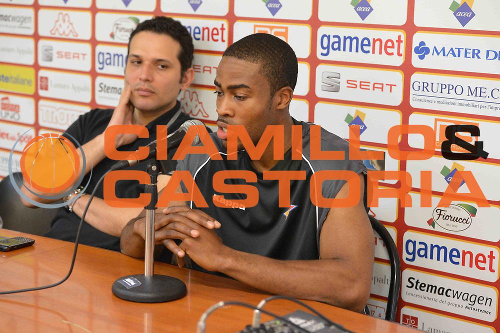 DESCRIZIONE : Roma Campionato Beko Lega A 2012-2013 presentazione Bryan Bailey<br /> GIOCATORE : Bryan Bailey Alberani<br /> CATEGORIA : presentazione ritratto<br /> SQUADRA : Acea Roma<br /> EVENTO : Campionato Beko Lega A 2012-2013 <br /> GARA : presentazione Bryan Bailey<br /> DATA : 04/05/2013<br /> SPORT : Pallacanestro <br /> AUTORE : Agenzia Ciamillo-Castoria/ GiulioCiamillo<br /> Galleria :  Campionato Beko Lega A 2012-2013 <br /> Fotonotizia : Roma Campionato Beko Lega A 2012-2013 presentazione Bryan Bailey<br /> Predefinita :