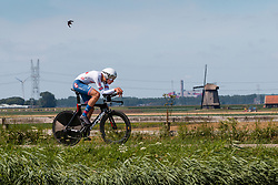 VERNON Ethan from GREAT BRITAIN during Men Under 23 Time Trial at 2019 UEC European Road Championships, Alkmaar, The Netherlands, 8 August 2019. <br /> <br /> Photo by Pim Nijland / PelotonPhotos.com <br /> <br /> All photos usage must carry mandatory copyright credit (Peloton Photos | Pim Nijland)