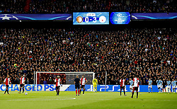 Champions League 2017/2018<br />Feyenoord-Manchester City<br />Totale ontreddering bij Feyenoord na de 0-3<br />Foto ; Pim Ras during the UEFA Champions League group F match between Feyenoord Rotterdam and Manchester City at the Kuip on September 13, 2017 in Rotterdam, The Netherlands