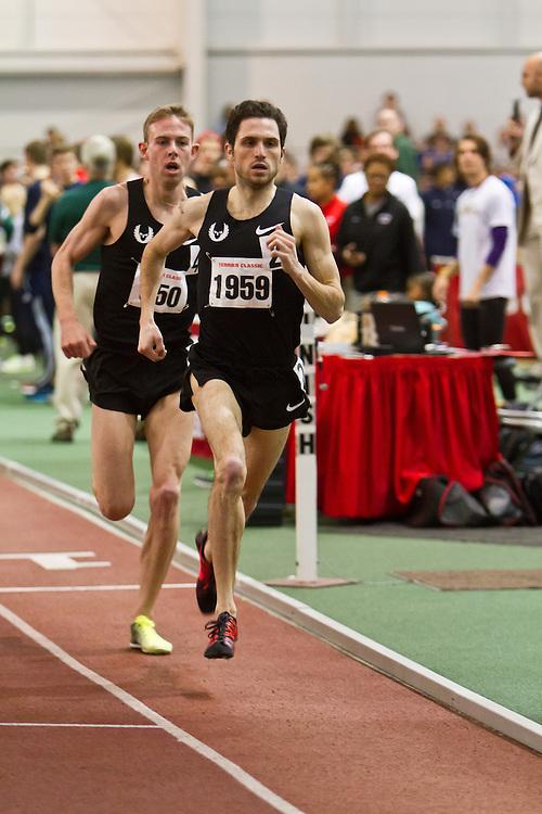 Boston University Terrier Invitational Indoor Track Meet: Dorian Ulrey paces Galen Rupp, Oregon Project, to win Elite Mile 3:50.92