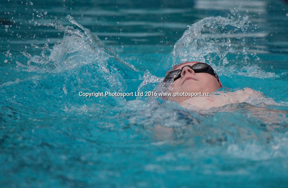 Swimming, Day 1, Halberg Junior Disability Games, St Peter's School, Cambridge, New Zealand. Friday, 22 April, 2016. Copyright photo: John Cowpland / www.photosport.nz