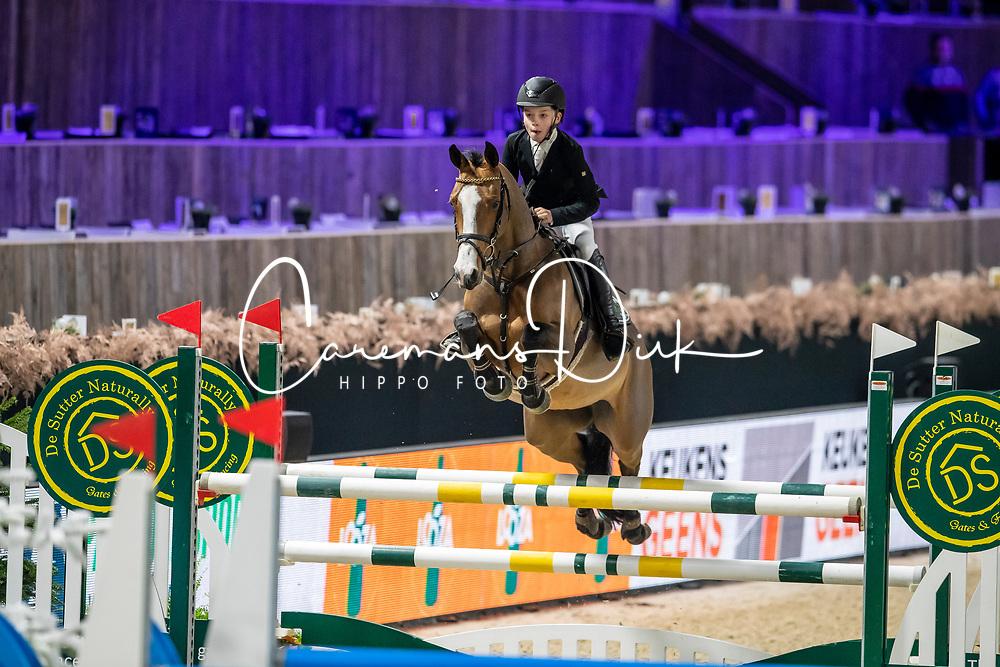 Wouters Seppe, BEL, Kandide Van Seven Oaks<br /> Jumping Mechelen 2019<br /> © Hippo Foto - Dirk Caremans<br />  27/12/2019