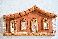 Artesanato típico de Florianópolis no Ribeirão da Ilha. Florianópolis, Santa Catarina, Brazil. / Typical handcraft work made in Ribeirao da Ilha district. Florianopolis, Santa Catarina, Brazil.