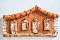 Artesanato típico de Florianópolis no Ribeirão da Ilha. Florianópolis, Santa Catarina, Brazil. / Typical handcraft work made in Ribeirao da Ilha district. Florianopolis, Santa Catarina, Brazil.