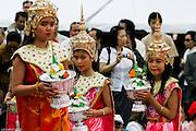 A cette occasion, l'école pour la sauvegarde du ballet royale présente un numéro en l'honneur du Phrabang.