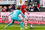 ALKMAAR - 22-04-2017, AZ - FC Twente, AFAS Stadion, FC Twente speler Hidde ter Avest, AZ speler Stijn Wuytens