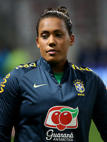 International Women's Friendly Matchs 2018 / <br /> France v Brazil 3-1 ( Allianz Riviera Stadium - Nice,France ) - <br /> Barbara Barbosa of Brazil