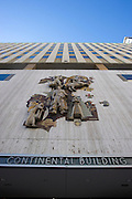An exterior view of the new Continental apartment building before its official opening in Dallas on Tuesday, March 12, 2013. (Cooper Neill/The Dallas Morning News)