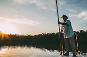 Fly Fising for Tarpon in the FL. Everglades<br /> Photography by Adam Alexander