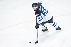 Oskar Osala of Finland during the 2017 IIHF Men's World Championship group B Ice hockey match between National Teams of Canada and Finland, on May 16, 2017 in AccorHotels Arena in Paris, France. Photo by Vid Ponikvar / Sportida