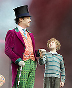 West End Live! 2016 <br /> Trafalgar Square, London, Great Britain <br /> 18th June 2016<br /> <br /> <br /> <br /> CHARLIE AND THE CHOCOLATE FACTORY<br /> <br /> <br /> Photograph by Elliott Franks <br /> Image licensed to Elliott Franks Photography Services