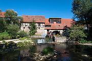 Mühle an der Ilm, Buchfart, Thüringen, Deutschland | mill, river Ilm, Buchfart, Thuringia, Germany