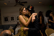 LOLA SCHNABEL; ALEXANDER DEXTER-JONES, Party hosted by Franca Sozzani and Remo Ruffini in honour of Bruce Weber to celebrate L'Uomo Vogue The Miami issuel by Bruce Weber. Casa Tua. James Avenue. Miami Beach. 5 December 2008 *** Local Caption *** -DO NOT ARCHIVE-© Copyright Photograph by Dafydd Jones. 248 Clapham Rd. London SW9 0PZ. Tel 0207 820 0771. www.dafjones.com.