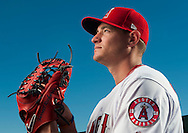 Pitcher Garrett Richards poses during the Angels' Photo Day at Spring Training in Tempe, AZ on Tuesday, February 21, 2017. (Photo by Kevin Sullivan, Orange County Register/SCNG)